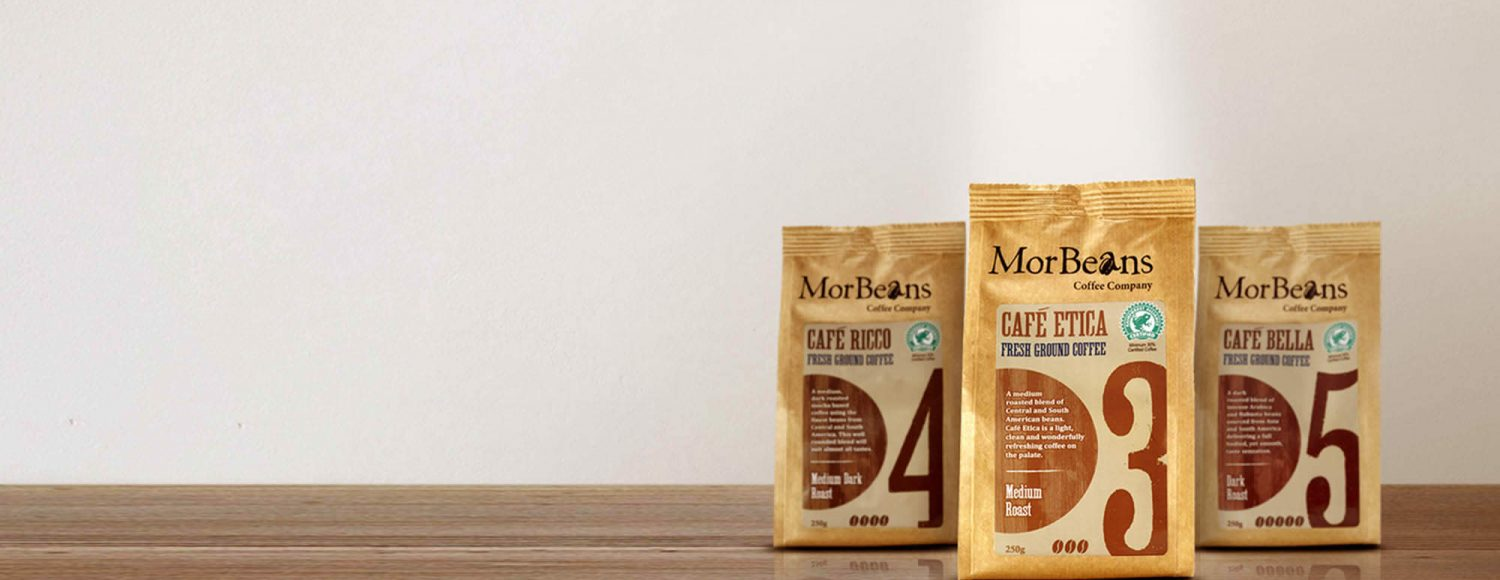 MorBeans coffee bean selection