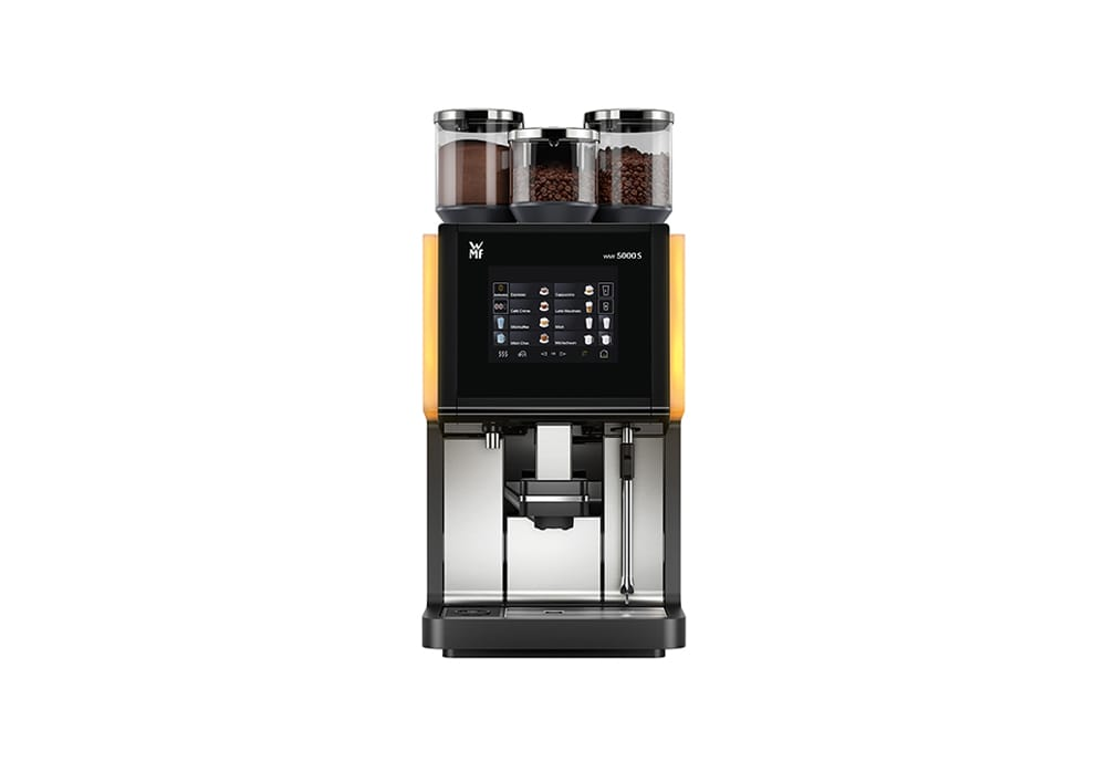 wmf 5000s bean to cup coffee machine morbeans coffee company. Black Bedroom Furniture Sets. Home Design Ideas