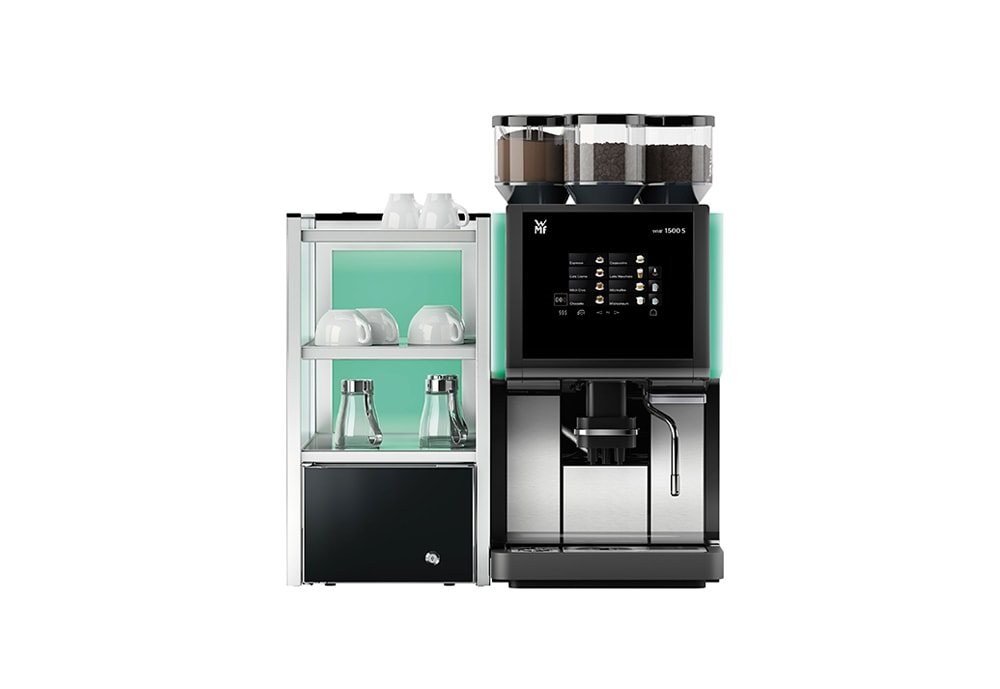 wmf 1500s bean to cup coffee machine morbeans coffee company. Black Bedroom Furniture Sets. Home Design Ideas